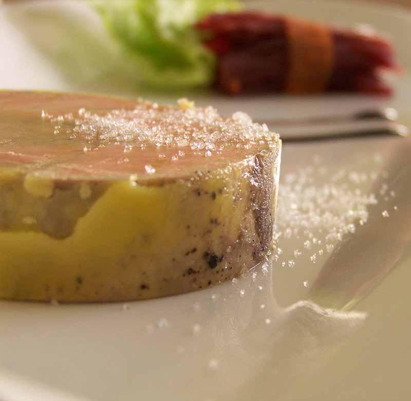 Fois gras maison, restaurant Le Macis