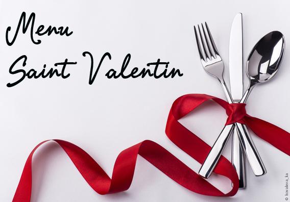 Saint valentin à Restaurant le Macis